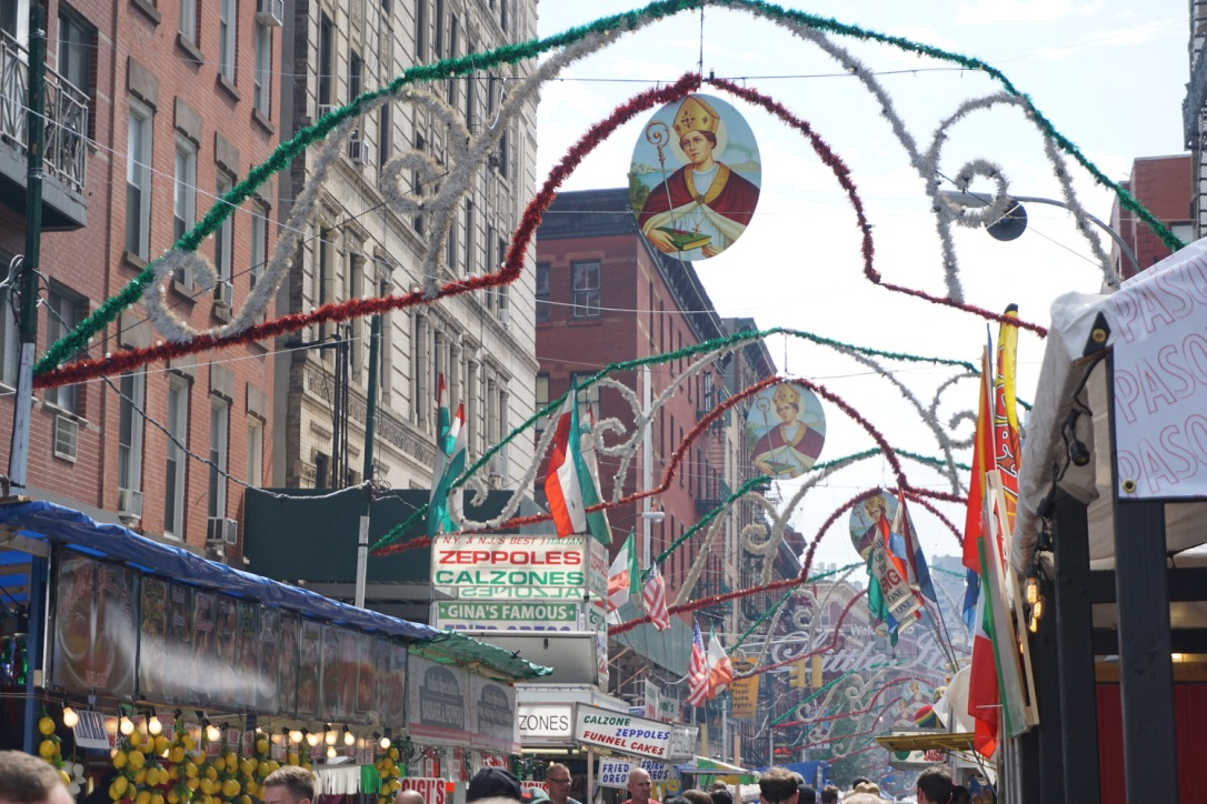 Fall Family Fun: The Feast of San Gennaro